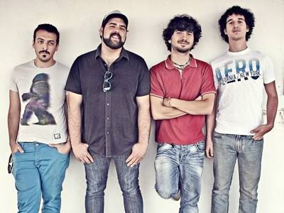 Middle Eastern band Lazzy Lung hit the Hollywood hills