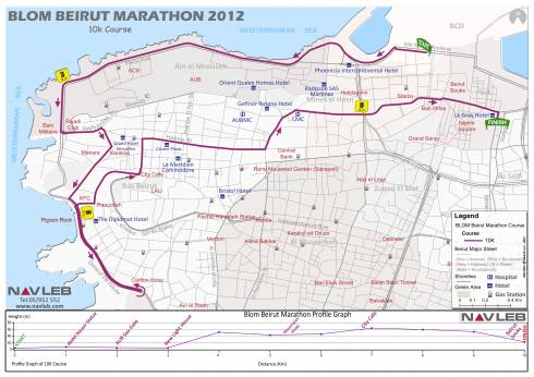 Your Map to This Weekend's Marathon