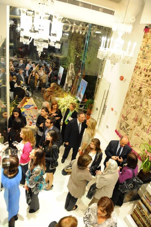 Samovar Gallery opens in Beirut Central District: An authentic savoir faire with a modern twist