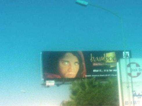 The Afghan Girl Sells Furniture
