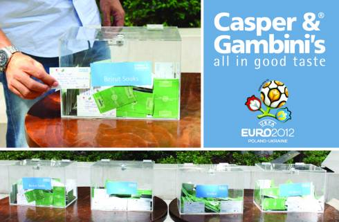Unforgettable prizes won by Euro Cup viewership at Casper & Gambini's