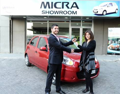 "RYMCO gives away 1 New Nissan Micra to the winner of ""Make it with Micra"" competition"