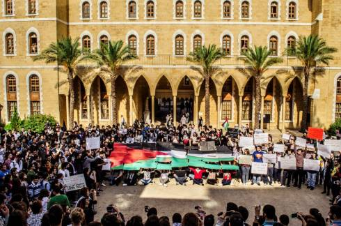 Beirut in Solidarity with Gaza