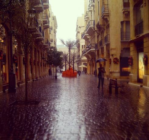Beirut Dons Its Seasonal Garb