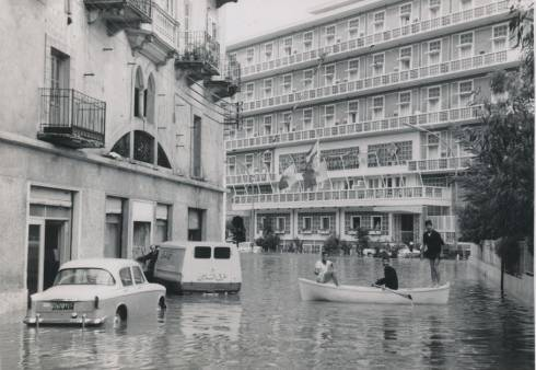 Vintage Photos Reveal the Beirut Flood of 1965