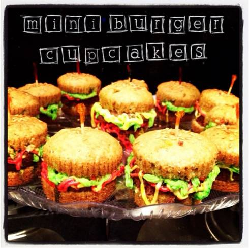 Burger Cupcakes...Need We Say More?
