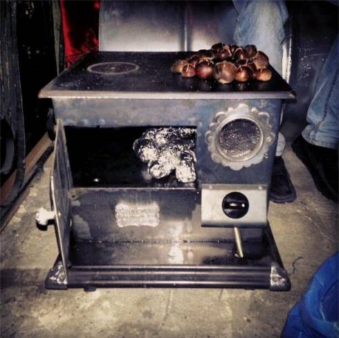 Roasting Chestnuts....in a Pub