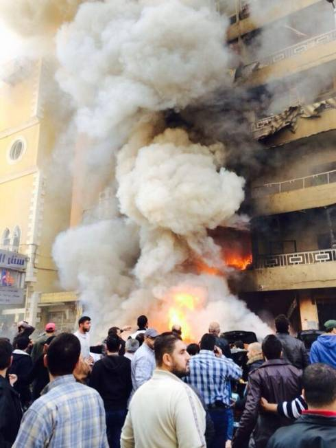 Explosion Rips Through Dahiyeh in South Beirut