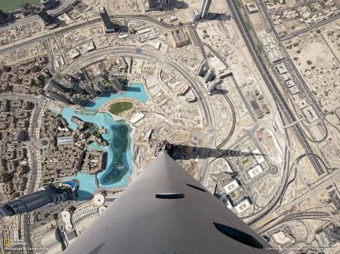 Dubai from the Burj Khalife