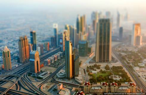 Tilt Shift: Dubai for Ants