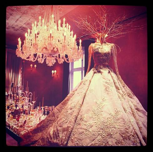 Elie Saab Stuns Again With Princess Gown Creation