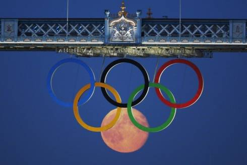 At the London Olympics, this is what you call perfect timing
