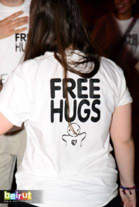 No Free Hugs Allowed in Saida?