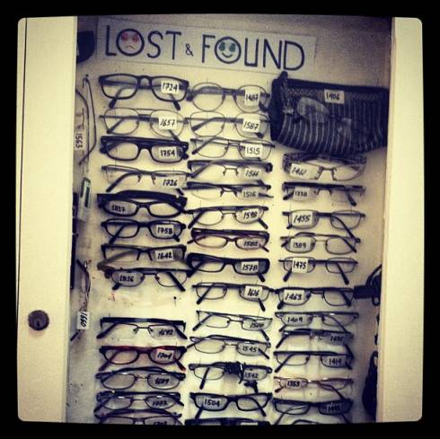 People Who Lose Their Glasses