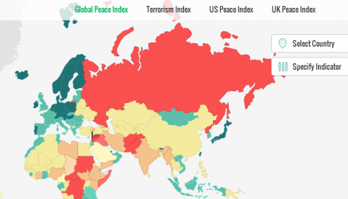 Global Peace Index Report Ranks Lebanon 142 of 162 Countries
