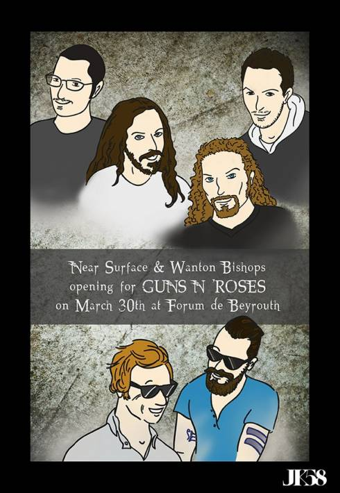 Near Surface and The Wanton Bishops Set to Open for Guns N' Roses