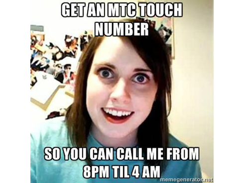 Overly Attached Lebanese Girlfriend meme