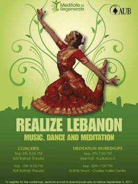 Realize Lebanon: Music, Dance and Meditation