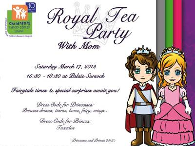 CCCL's Royal Tea Party- With Mom