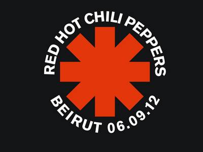 Red Hot Chili Peppers Live at Beirut Waterfront