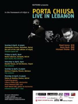 Ruptured presents PORTA CHIUSA, Live in Lebanon