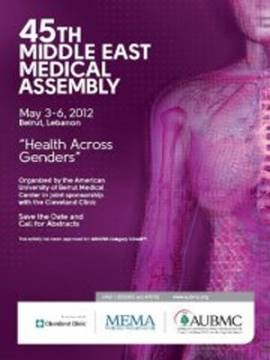 45th Middle East Medical Assembly (MEMA):