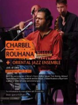 Charbel Rouhana and The Oriental Jazz Ensemble