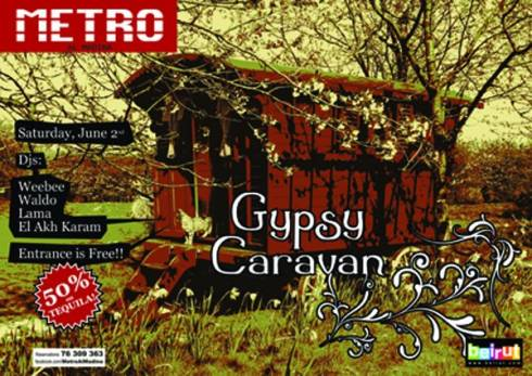 Gypsy Caravan Night