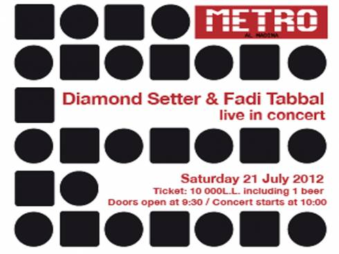 Diamond Setter and Fadi Tabbal Live in Beirut