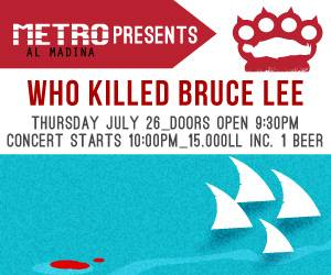 Who Killed Bruce Lee Performs Live at Metro