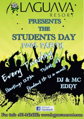 Student Day Pool Party at Laguava