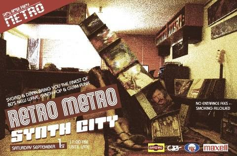Synth City at Metro Al Madina