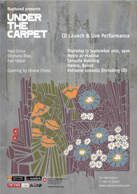 Under The Carpet CD Launch at Metro Al Madina