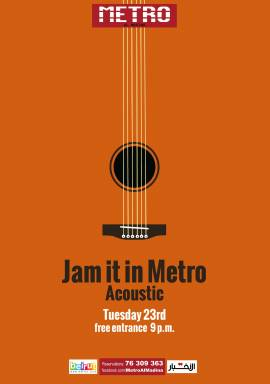 Jam It In Metro: Acoustic