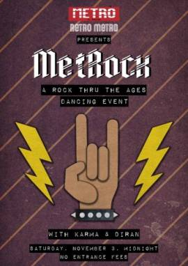 Retro Metro Rock Night