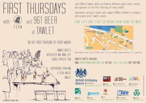 First Thursdays at Tawlet