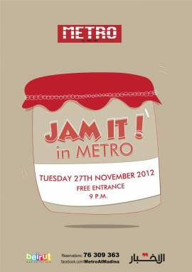 Jam It In Metro Is Back