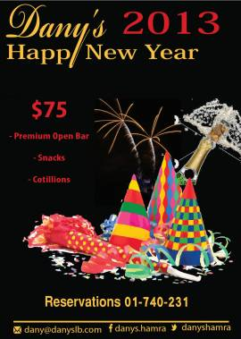 New Year's Eve at Dany's