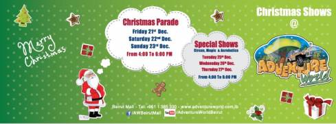 Christmas Shows at Beirut Mall