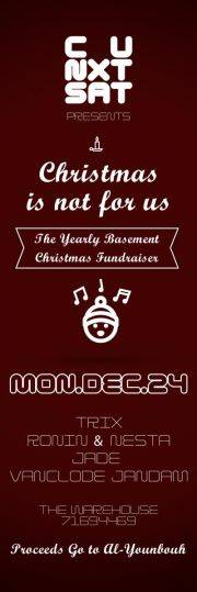 The Yearly Basement Christmas Fundraiser