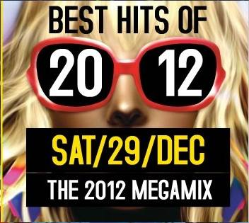 The 2012 Mega Mix at Brut