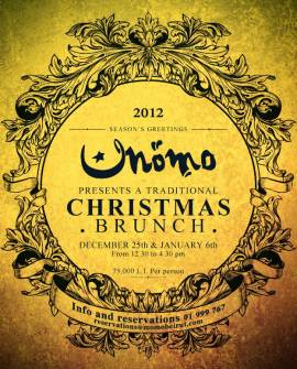 Christmas Brunch at Momo at the Souks
