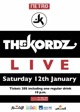 The Kordz Live at Metro Al Madina