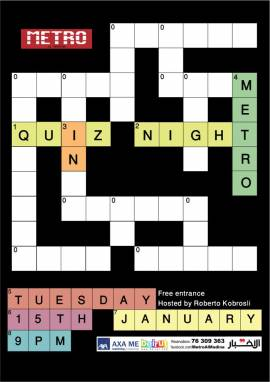Quiz Night at Metro Al Madina
