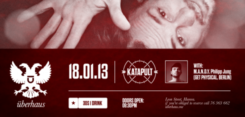 Katapult with M.A.N.D.Y. at Uberhaus