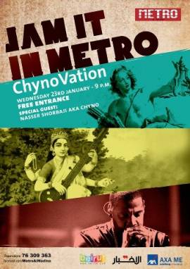 Jam It In Metro with Chyno