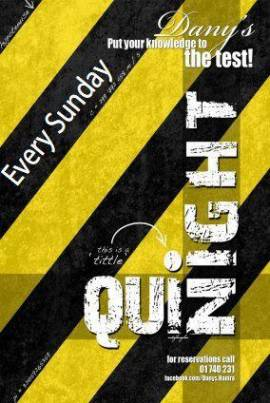 Quiz Night at Dany's