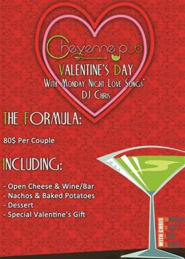 Valentine's Day at Cheyenne Pub