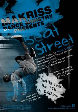 Beat Street Workshop at Makriss Dance Ministry