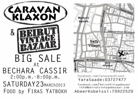 CK and BVB Big Vintage Sale at Bechara Cassir & Fils